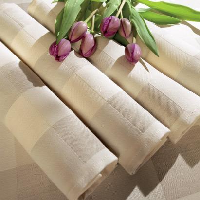 Stort utbud av textilier från Ekelund, Linneväveriet i Horred AB