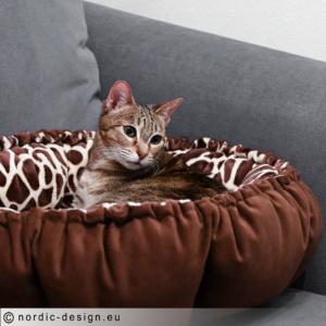 Mönster - Sy en kattsäng / kattbädd.