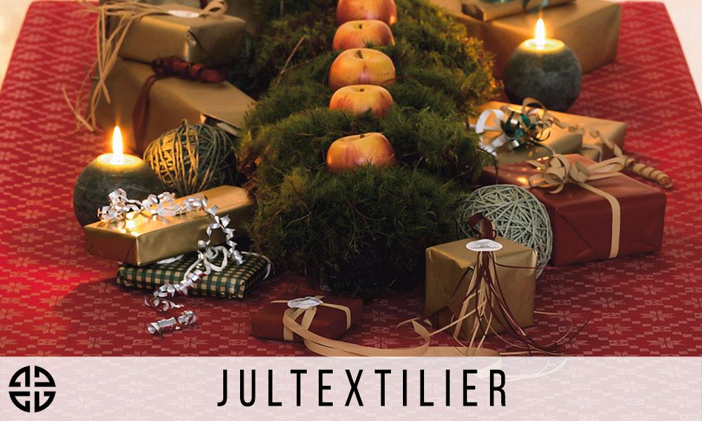 Jultextilier - Ekelunds Linneväveri