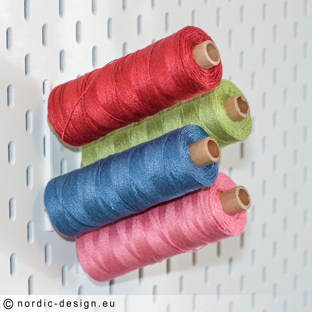 IKEA SKÅDIS Trådhållare till Overlock Sytråd och Lingarn 16/2 16/1 mm.